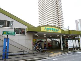 大泉学園駅前です。